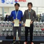 66kg級 1位佐々木孝義75kg 2位矢島圭悟65kg