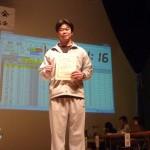 朝井章生選手6位127.5kg
