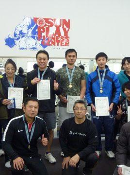 第20回サンプレイ・ベンチプレス記録会 H30.12.16