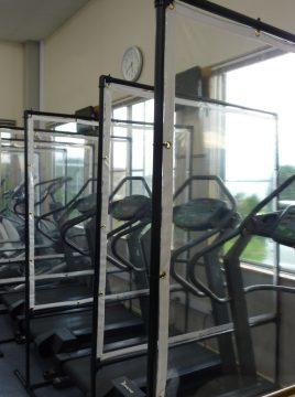 感染症対策実施中!トレーニングを中断された皆様、トレーニングの再開を期待します。